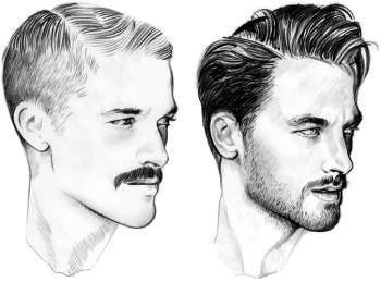 A Century of Men s Grooming Trends in 90 Seconds - Modern Barbarian Beard Co