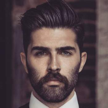Mens hairstyles with moustache. 30 Ideal Short Hair Beard