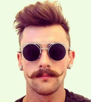 Can You Handle These hotties with Mustache? Hot Mustache Styles! - Life N Lesson