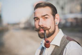 What Is and How To Grow a Perfect Handlebar Mustache - Beardoholic