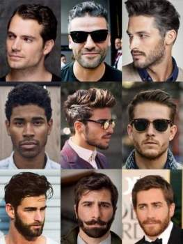 Different mens facial hair styles, FACIAL HAIRSTYLES