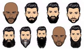 Different types of beard styles, FACIAL HAIRSTYLES