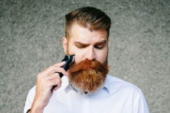How to trim a long mustache
