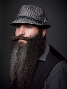 Beard styles without mustache, FACIAL HAIRSTYLES