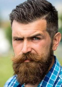 How to style your handlebar moustache