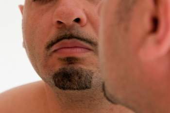 How to make moustache hair thicker