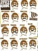 Short beard long moustache