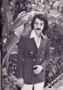 Thick handlebar mustache