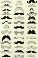 Black moustache styles