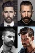 Mustache haircut